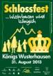 Schlossfest - ...Wusterhausen wird königlich