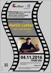 """""""500 Jahre Reformation / Martin Luther und die Freiheit eines Christenmenschen"""""""