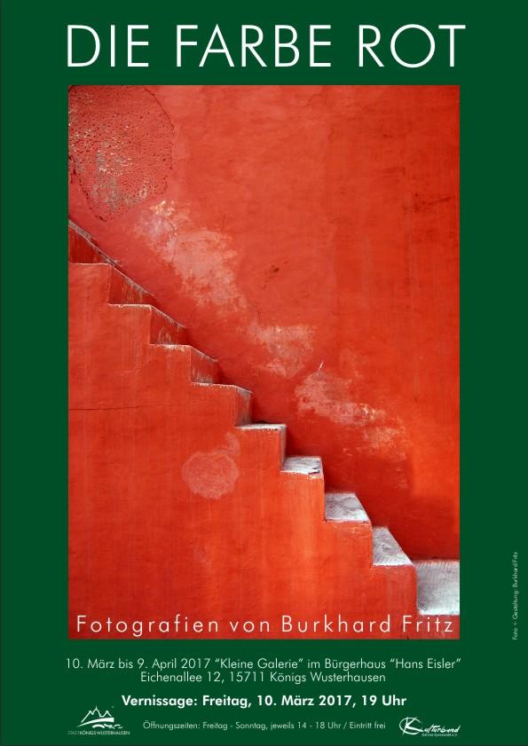 Burkhard Fritz - Die Farbe ROT