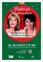 Weihnachtslesung mit Uta Schorn & Eva Maria Pieckert
