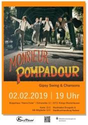 Konzert mit Monsieur Pompadour