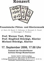 Französische Flöten- und Klaviermusik