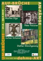 """Werkausstellung """"Umbrüche, Aufbrüche, Anfänge – dahme-ART!"""""""