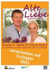 """Szenische Lesung """"Alte Liebe"""" mit Bruno F. & Diana Apitz"""