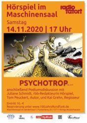 """""""100 Jahre Rundfunk"""" Präsentation des Radio-Tatorts """"Psychotrop"""" (rbb2019) von Tom Peuckert"""