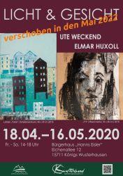 """Personalausstellung """"Licht & Gesicht"""""""