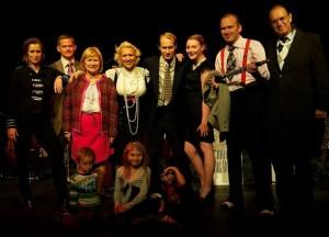 Carling Family Band med Gunhild