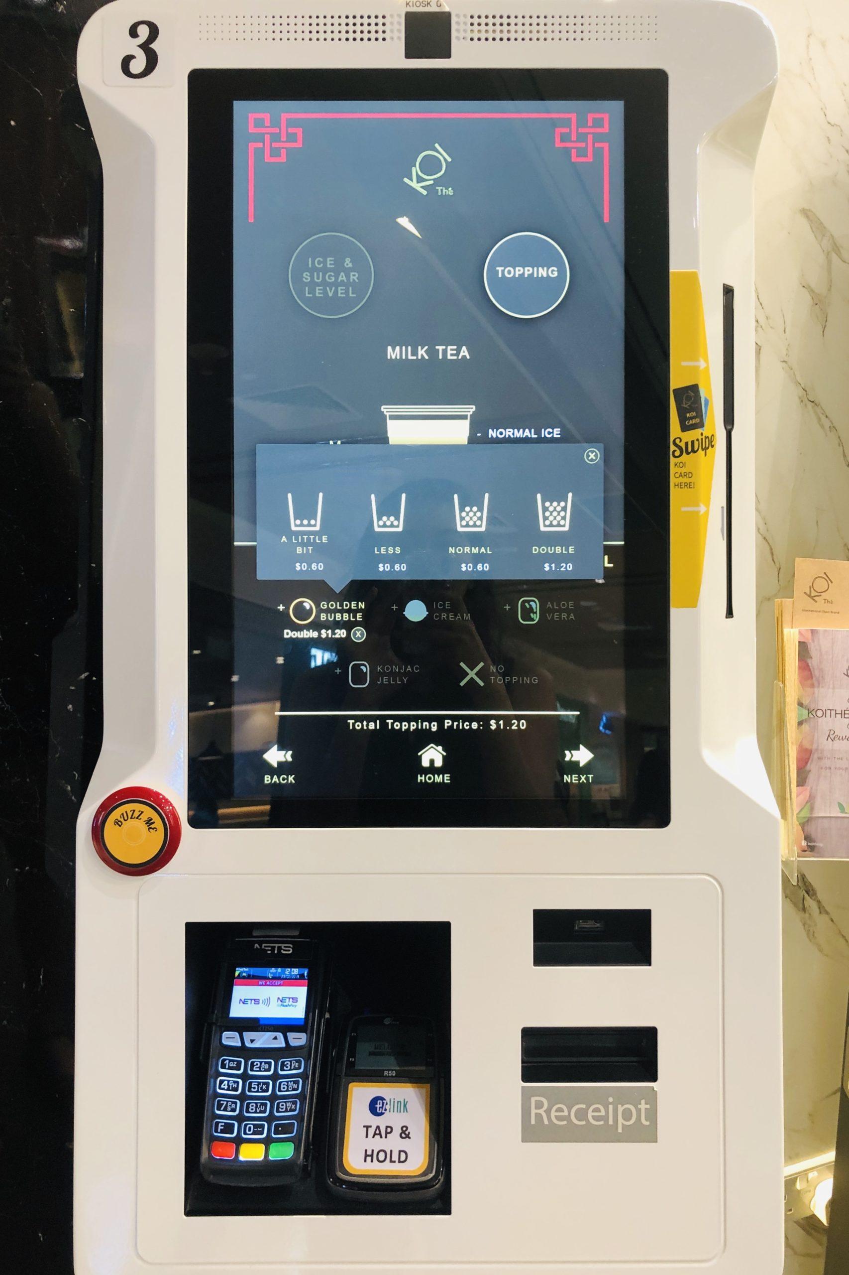 KOI Vending Machine Singapore