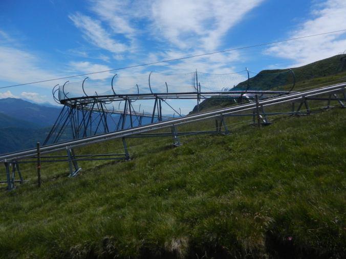 Pista per slittini — Sommerrodelbahn auf der Alpe Foppa