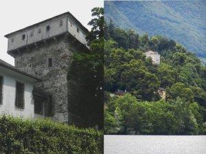 1873 kaufte der Anarchist Bakunin mit  Hilfe von Carlo Cafiero die Villa La Baronata (rechts oben) und beherbergte polizeilich gesuchte Revolutionäre.  Doch schon bald zerwarf er sich mit Cafiero.