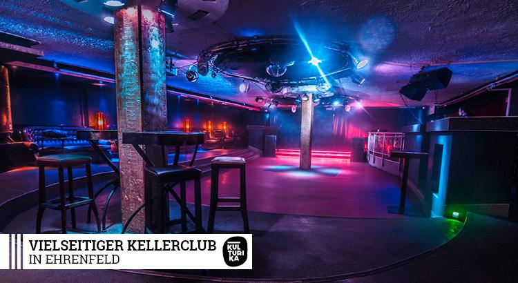 Vielseitiger Kellerclub in Köln Ehrenfeld