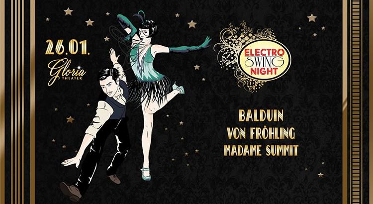 Electro Swing Night feat. Balduin am 26.01.2018 im Gloria Theater Köln