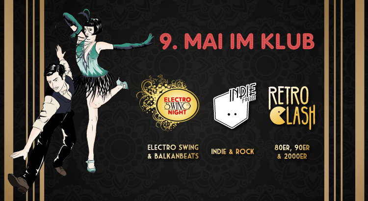 Electro Swing Night feat. Indie Fresse & Retro Clash im KLUB Wuppertal