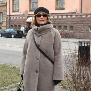 Vår mycket kunniga guide Annika Hällsten.