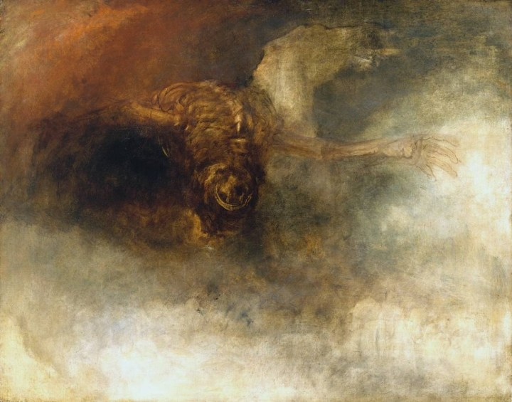 Death on a Pale Horse (?) circa 1825-30 Joseph Mallord William Turner 1775-1851 Accepted by the nation as part of the Turner Bequest 1856 http://www.tate.org.uk/art/work/N05504