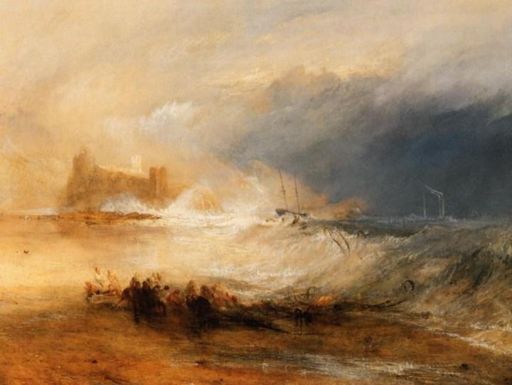 JMW Turner - Wreckers Coast of North