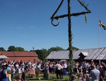 Midsommar med Kulturlandskaparna på Överjärva gård 2012-0622