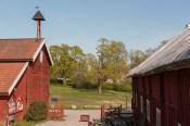 Ladugården på Överjärva gård i Solna