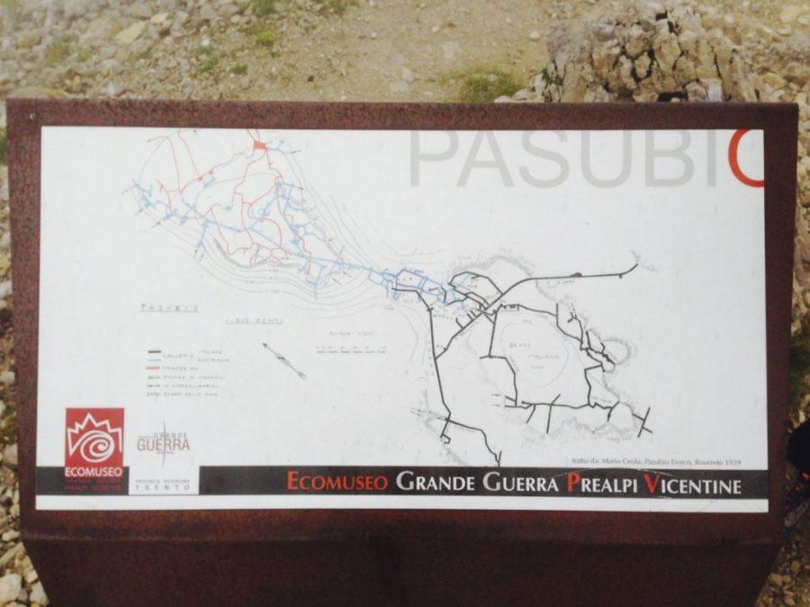 Tunnelsysteme am Pasubio (Dente Austriaco & Dente Italiano)