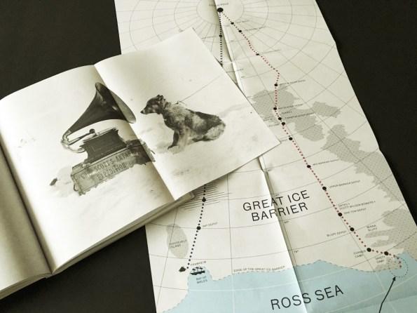 Programmbuch: Historische Aufnahmen und Routen der Südpolforscher