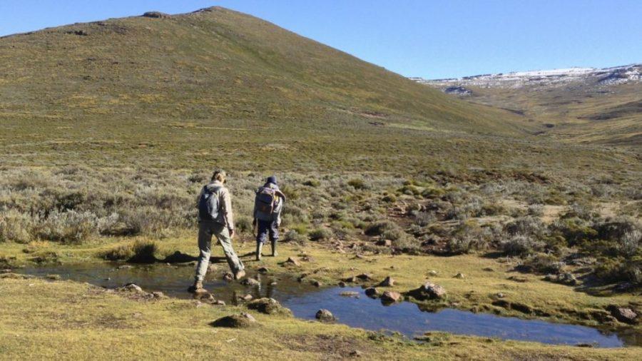 Drakensberge: Wanderung auf den Thabana Ntlenyana, Lesothos höchsten Berg