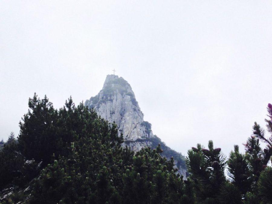 Blick von der Probstenwand zum Hennenkopf