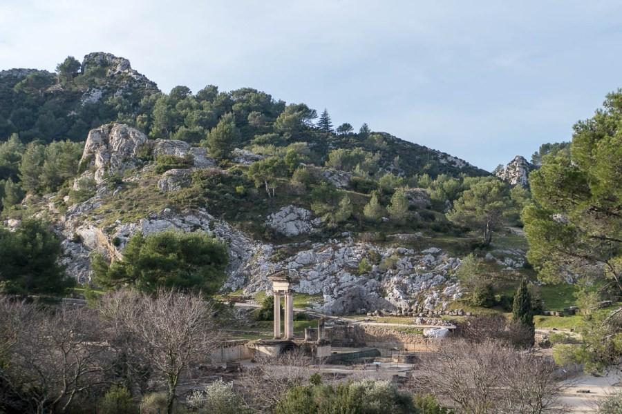Glanum - Antike Ruinen bei Saint-Rémy-de-Provence