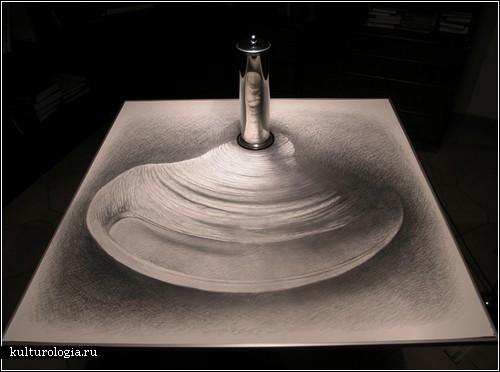 Оптические иллюзии Иштвана Ороса