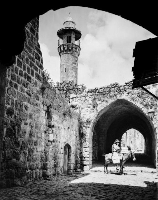 Иерусалим - город с многовековой историей, 1900 год.