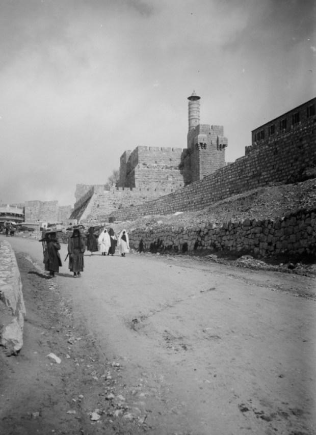 Исторический город Иерусалим, 1900 год.