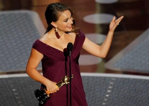 Натали Портман на вручении Оскара./ Фото: que.es