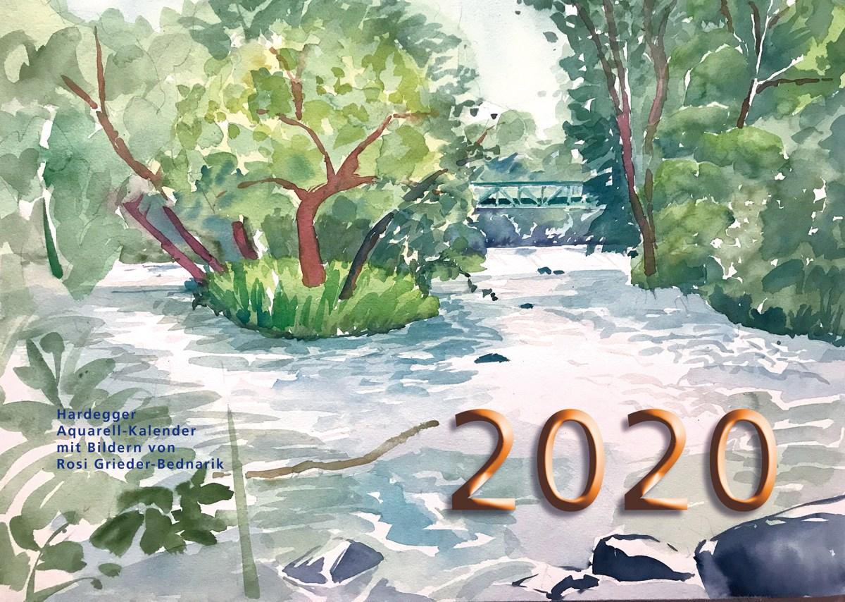 Hardegger Aquarellkalender 2020