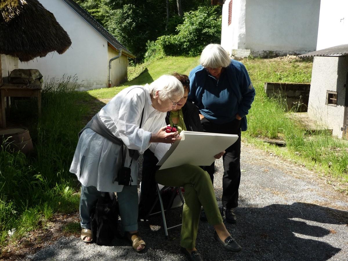Mal- und Gambensemiar in Großmürbisch 2019