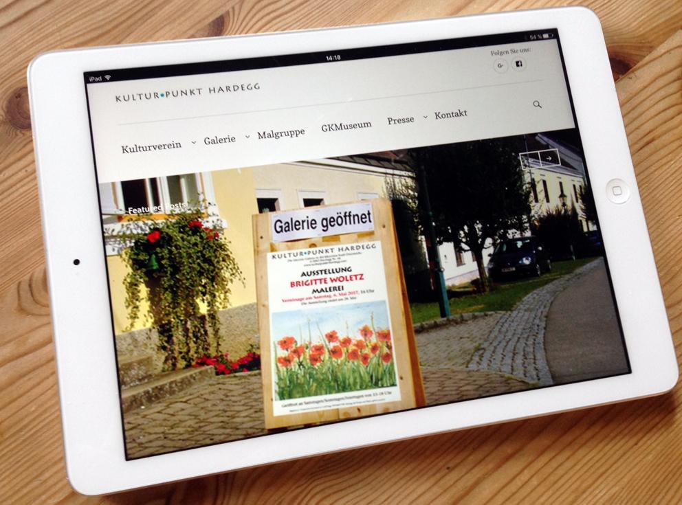Unsere neue Website