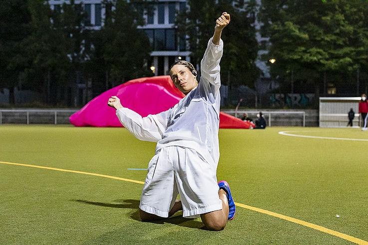 Tanz im August 2021: Milla Koistinen: Breathe. Copyright: Dajana Lothert
