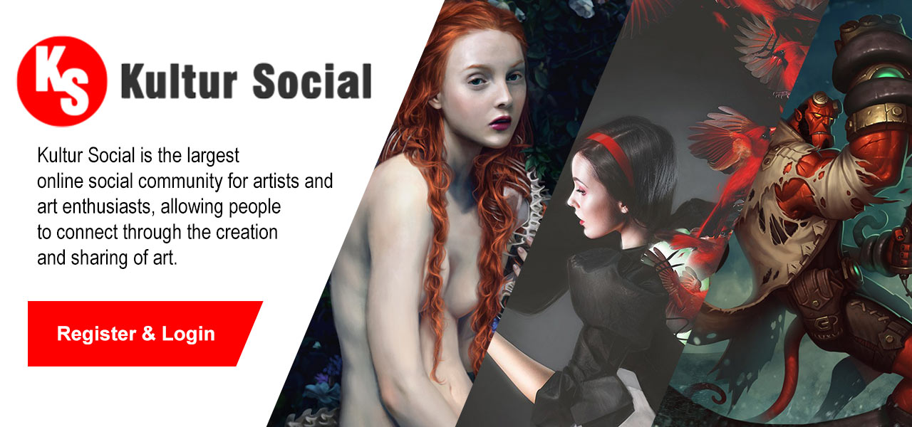 Kultur Social – The Largest Online Artist Community