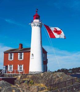 Leuchtturm in Kanada