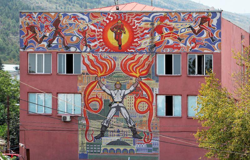 Bruchstücke einer Utopie: Mosaiken im postsowjetischen Raum