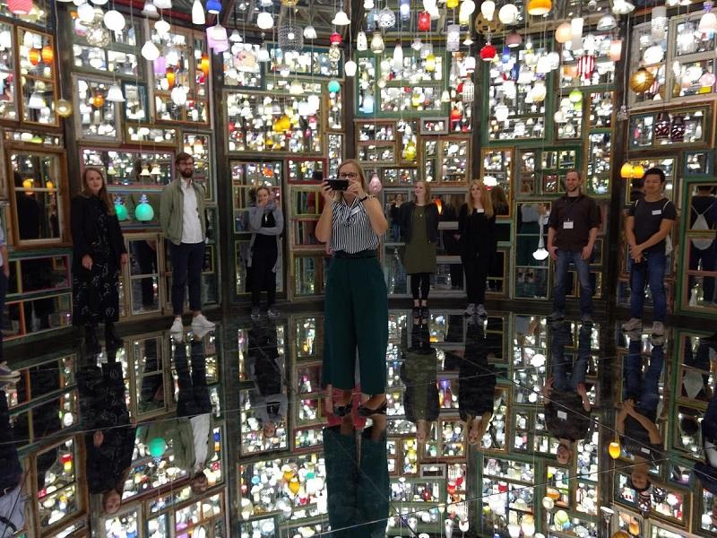 Willkommen im Labyrinth. Eine Ausstellung mit Sog-Wirkung.