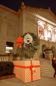 Eingang des Art Institute of Chicago