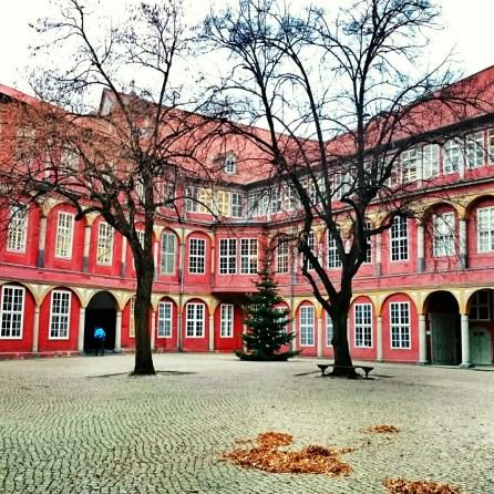 Das Schloss von Wolfenbüttel wird u.a. von der Bundesakademie genutzt.