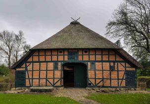 Das Bauerhaus des Landwirtschaftsmuseums