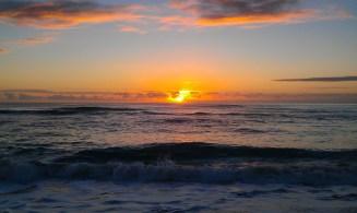 Blick auf den Pazifischen Ozean - Hawaii (Kauai)