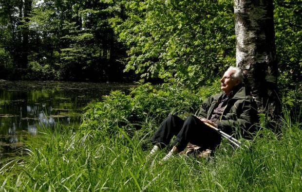 Arne Næss - foto: Petter Mejlænder
