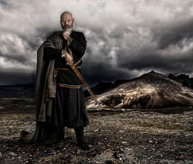 Egil Skallagrimsson - foto: Brynjar Agustsson
