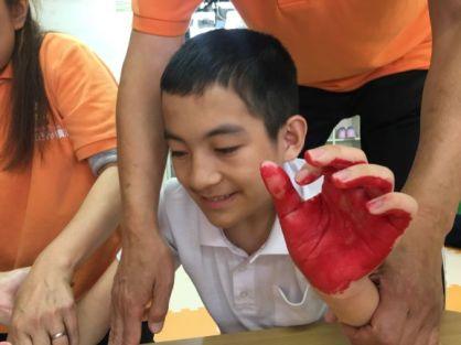 カニの手形3