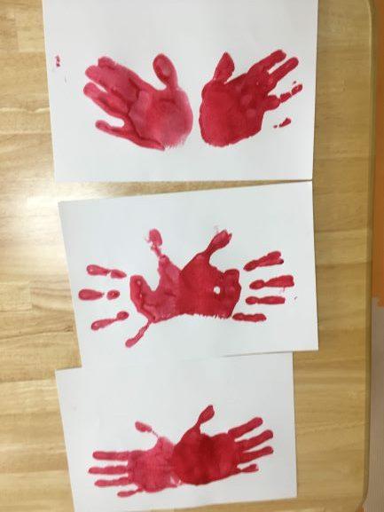 カニの手形1