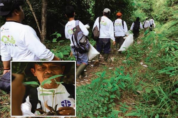 Ecopedition Menjaga Keanekaragaman Hayati Kalimantan