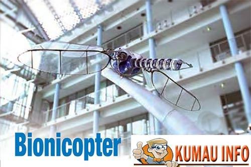 Bionicopter si Capung Terbang