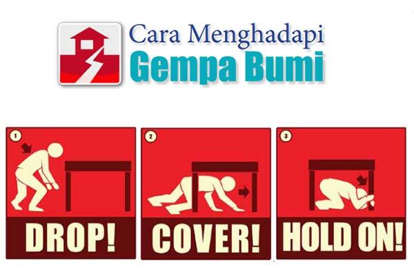 Tips Menghadapi Gempa Bumi